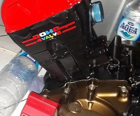 K 15 Red Engine