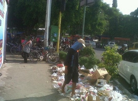 sampah mudikers