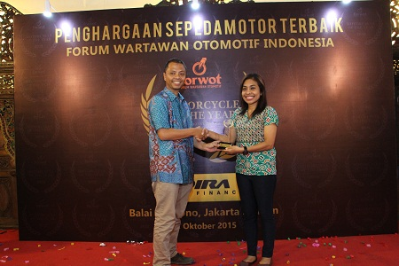 Yamaha NMAX 2015 Motorcycle of The Year versi Forum Wartawan Otomotif Indonesia (Forwot) Award (3)