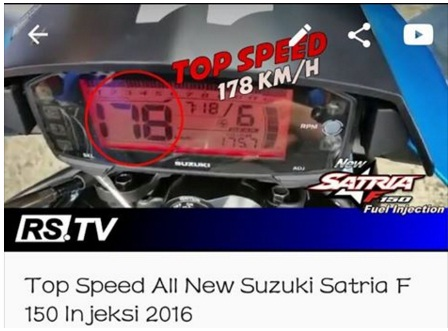 Heboh-Top-Speed-Satria -Injeksi-178-Kph-di-Youtube