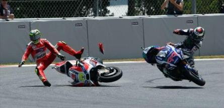 crash lorenzo dan Ianone