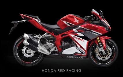 New CBR 250 Red Racing