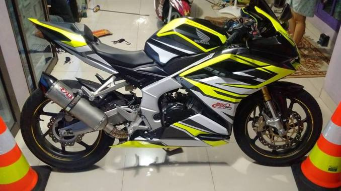 New CBR 250 RR Modifikasi