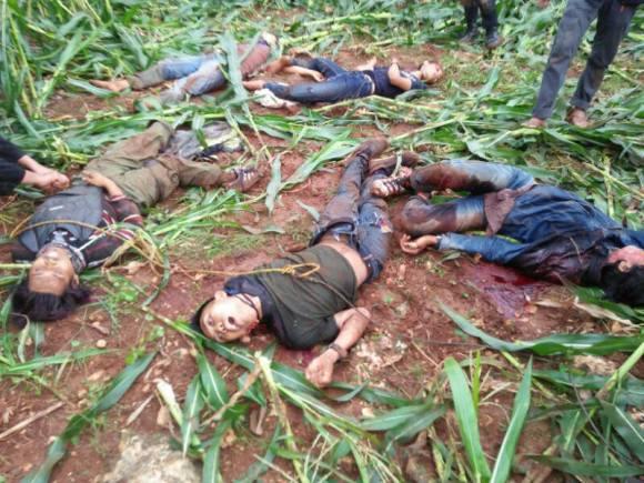 6 terduga teroris Tuban ditembak mati