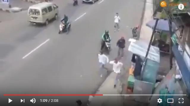 Driver-Grab-Gagalkan-Tawuran-Pelajar-di-Bogor