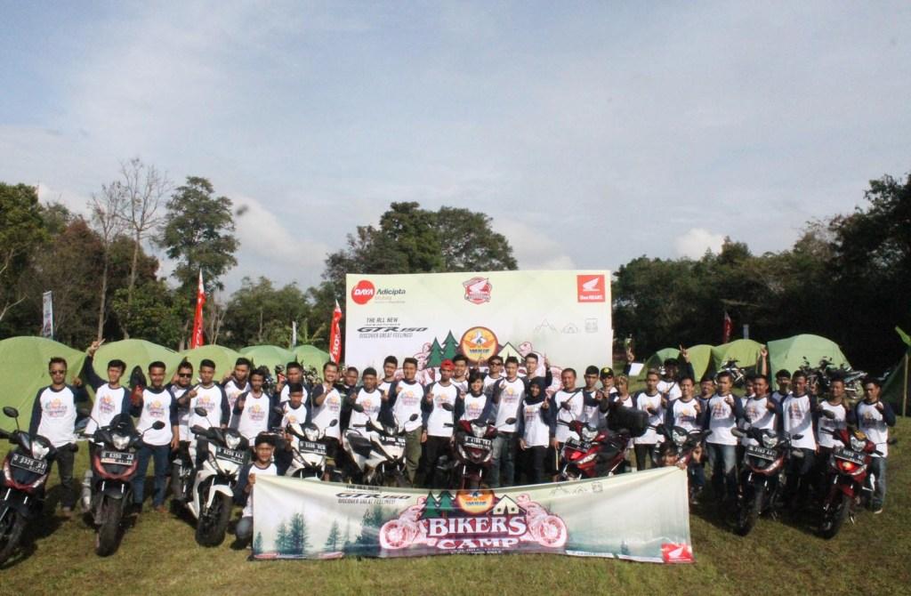 Ngintip Acara Honda Bikers Camp di Bandung