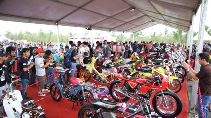Meriahnya Final Battle Honda Modif Contest 2017