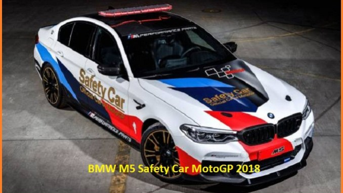 Mobil BMW M5 Safety Car MotoGP 2018
