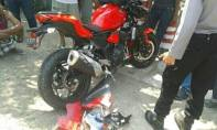 Tabrakan Ninja 250 R vs Pick up di Paiton (5)
