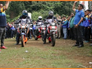 Suzuki Bike Meet di Bukit Golf Cibodas