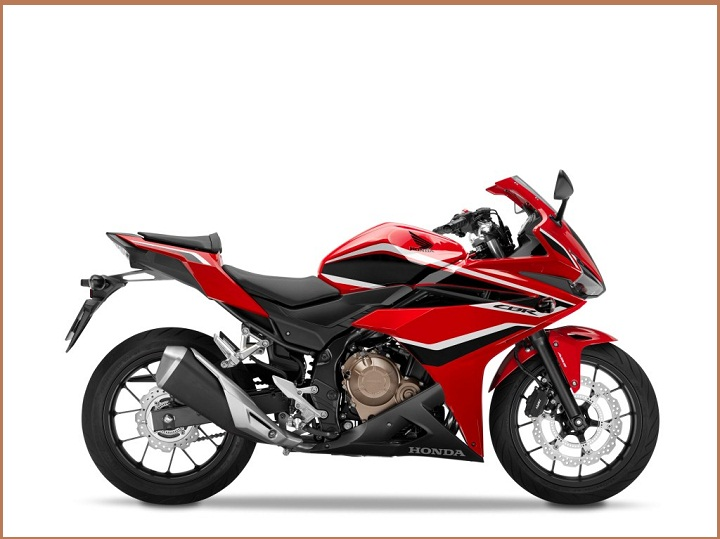 2018 CBR500R Grand Prix Red, Black Stripe