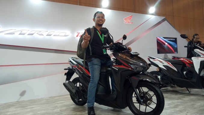 Testimoni Test Ride New Honda Vario 150 - 125