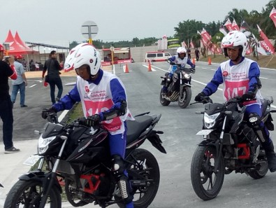 Mega Gallery Foto The 12th Astra Honda Safety Riding Instructor Competition (AH-SRIC) 2018 Day 1 (21)