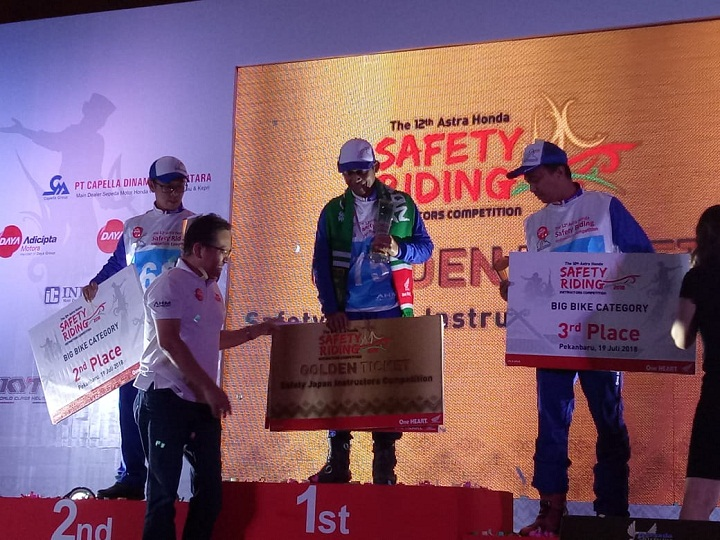 The 12th Astra Honda Safety Riding Instructor Competition (AH-SRIC) 2018 10