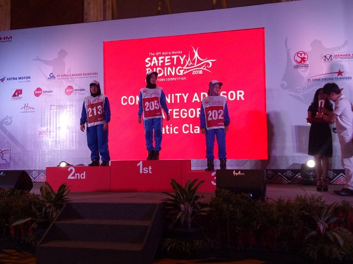 The 12th Astra Honda Safety Riding Instructor Competition (AH-SRIC) 2018 12