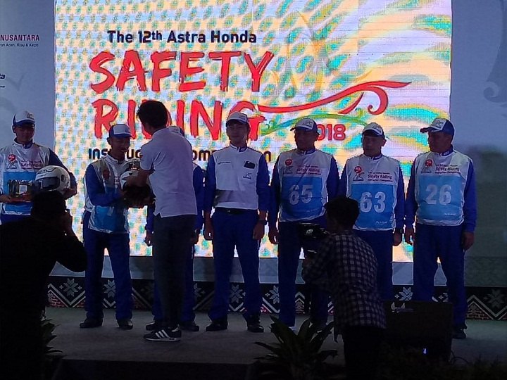 The 12th Astra Honda Safety Riding Instructor Competition (AH-SRIC) 2018 13