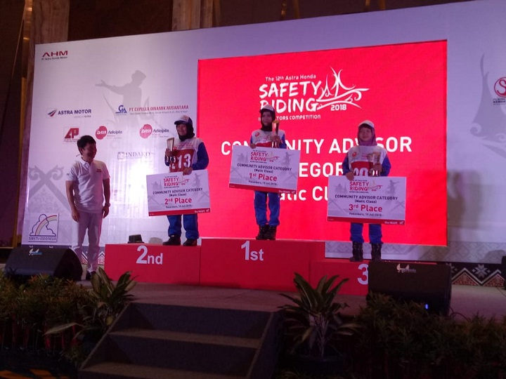 The 12th Astra Honda Safety Riding Instructor Competition (AH-SRIC) 2018 15