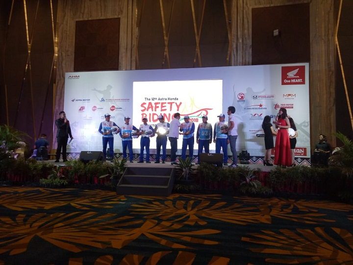The 12th Astra Honda Safety Riding Instructor Competition (AH-SRIC) 2018 17