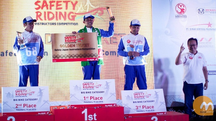 The 12th Astra Honda Safety Riding Instructor Competition (AH-SRIC) 2018 3