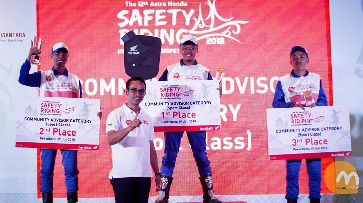 The 12th Astra Honda Safety Riding Instructor Competition (AH-SRIC) 2018 4