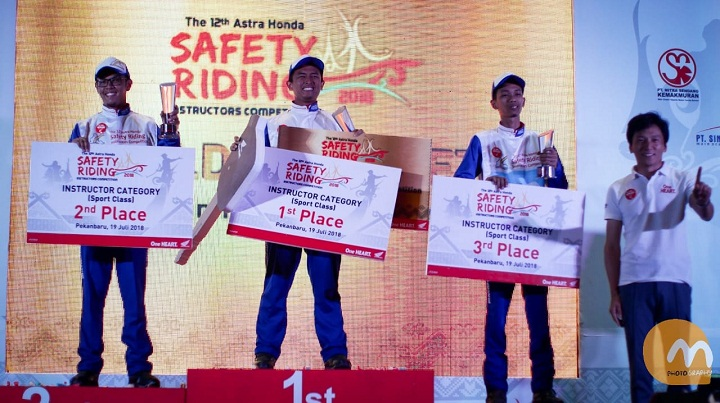 The 12th Astra Honda Safety Riding Instructor Competition (AH-SRIC) 2018 6