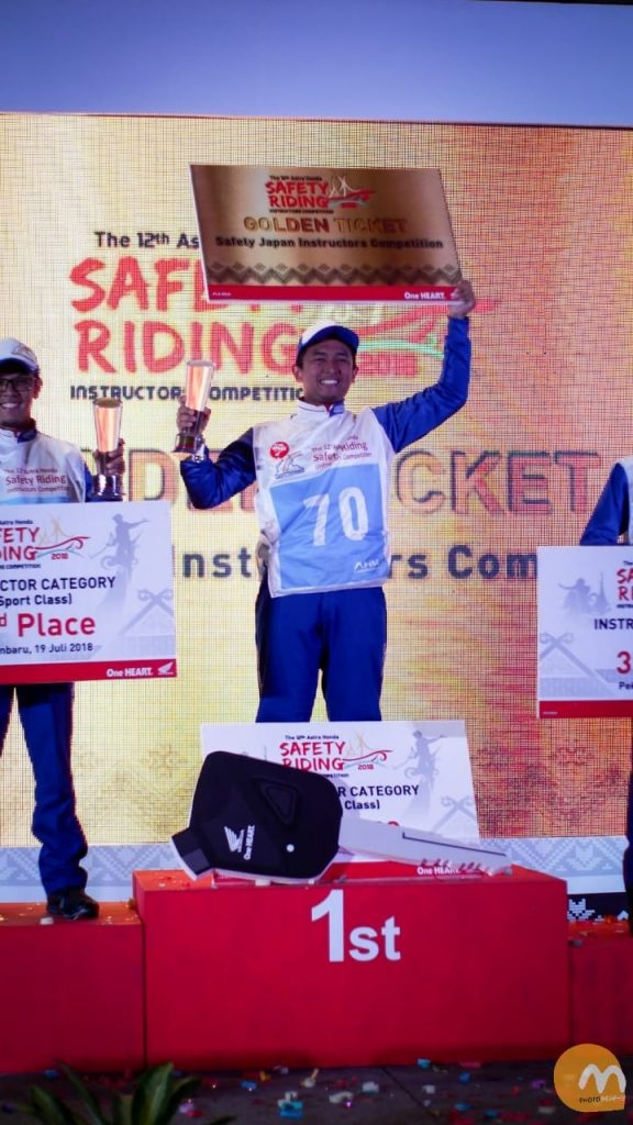 The 12th Astra Honda Safety Riding Instructor Competition (AH-SRIC) 2018 9