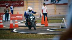 The 12th Astra Honda Safety Riding Instructor Competition (AH-SRIC) 2018 Slalom (3)