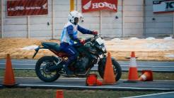 The 12th Astra Honda Safety Riding Instructor Competition (AH-SRIC) 2018 Slalom (4)