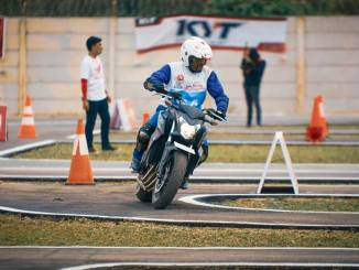 The 12th Astra Honda Safety Riding Instructor Competition (AH-SRIC) 2018 Slalom (6)