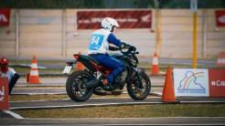 The 12th Astra Honda Safety Riding Instructor Competition (AH-SRIC) 2018 Slalom (8)