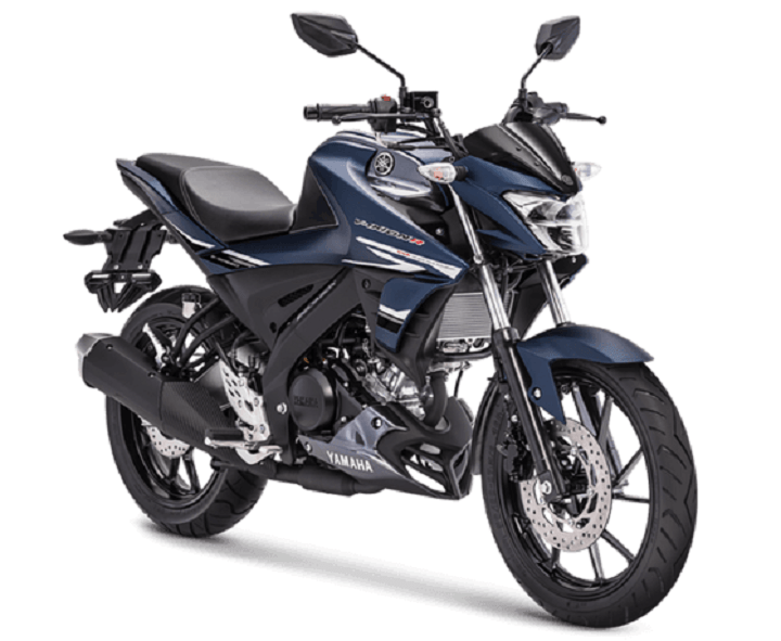 All New Vixion R Matte Blue