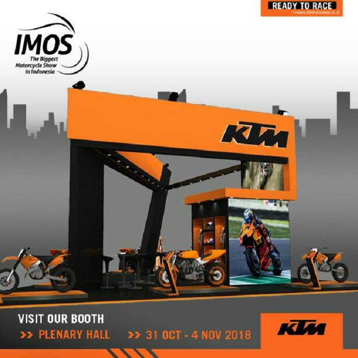 KTM Indonesia Siap Ramaikan Indonesia Motorcycle Show (IMOS) 2018