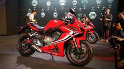 New Honda CBR650 2019 USD tampak samping kanan