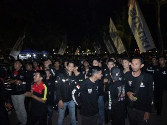 Ratusan Bikers Suzuki Ramaikan Saturday Night Ride Makassar