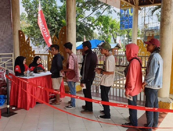 Honda Bikers Day 2019 Regional Sumatra