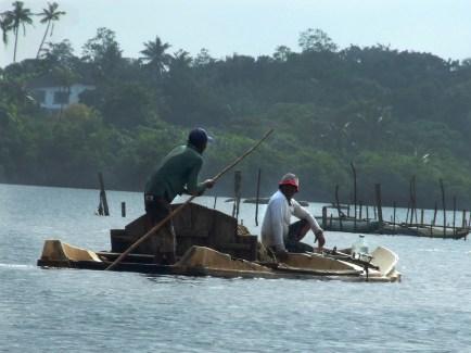 Diving for River Silt, Sri Lanka