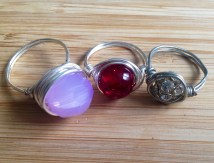 Wire Wrapped Rings|Bonsai Hewes