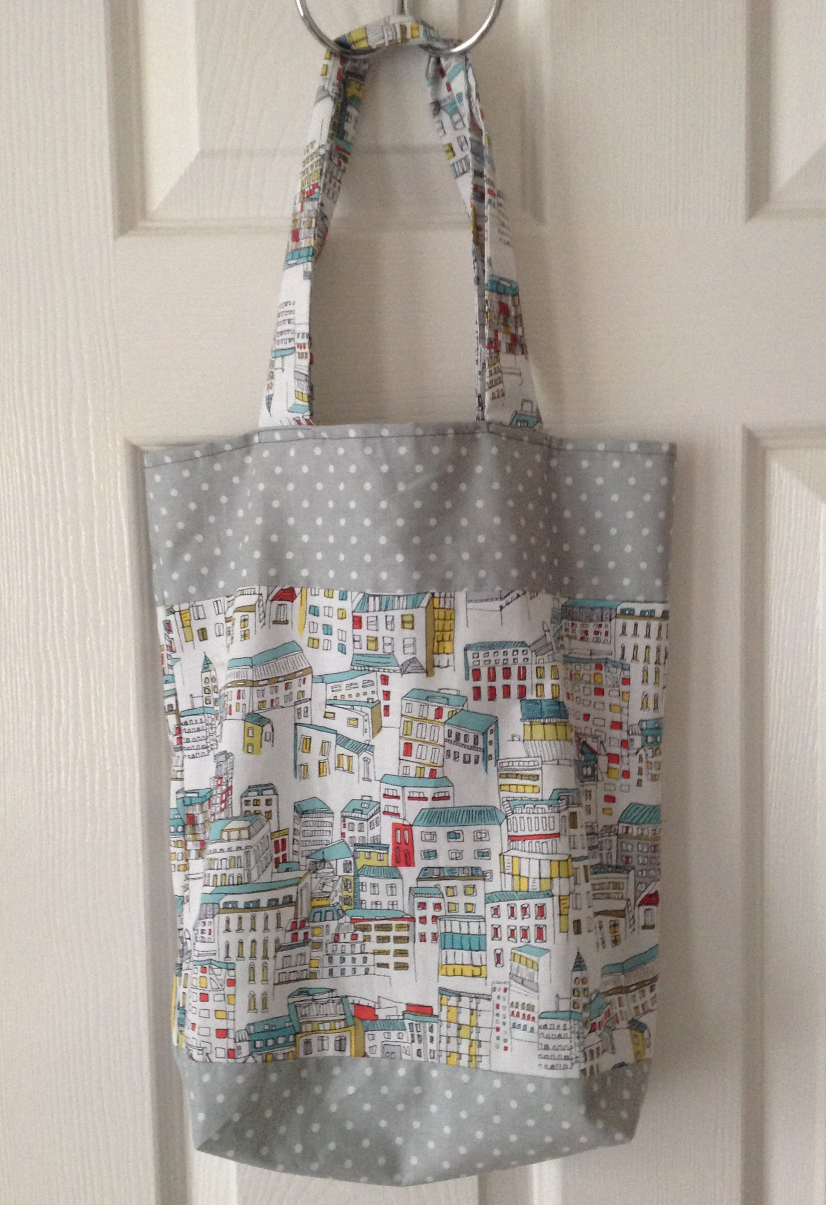 Shopping Tote Bag | Free Pattern