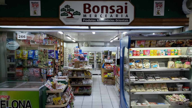Produtos Orientais Bonsai Mercearia Mercado Municipal