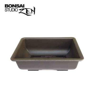 Plastic bonsai pot