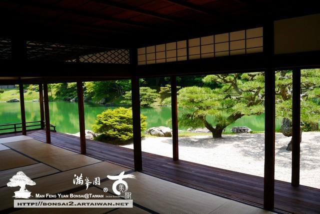 古美樹滿峯園日本庭園栗林公園