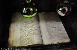 Manuscrit conservé à la Bibliothèque Humaniste de Sélestat et remontant à l'an 1521. On y trouve la première référence écrite au sapin de Noël connue dans le monde.