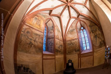 Hunawihr fresques de St-Nicolas