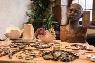 Exposition « Un Filon d'Argile » bronzes et céramiques de SUZANNE CAPDEVIELLE.