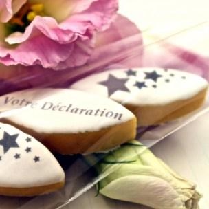 Déclaration gourmande - Gourmandises personnalisées