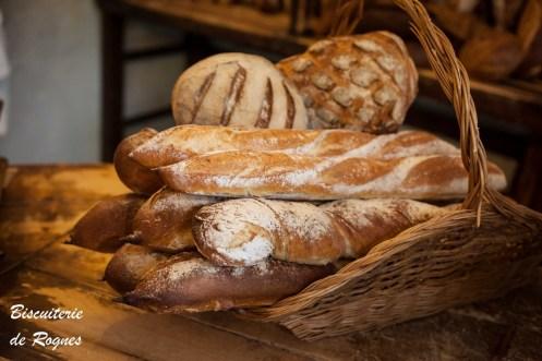 Pains traditionnels - Biscuiterie de Rognes
