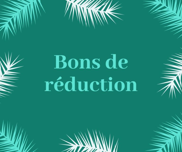 Read more about the article Bons de réduction