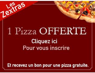 bon 1 pizza offerte
