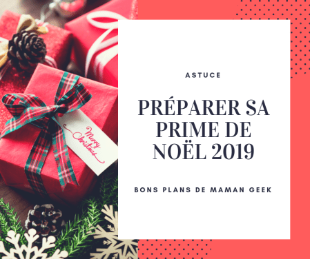 Objectif prime de Noël 2019