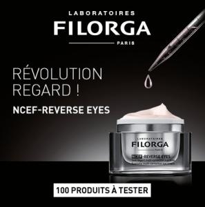 Read more about the article Test contour des yeux NCEF-Reverse Eyes des Laboratoires Filorga ( beauté-test )